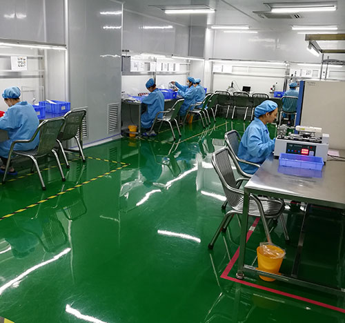 Clean Manufacturing Room